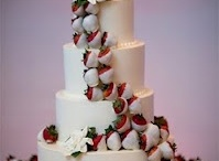 Strawberry Wedding / Ideas compiled from a Strawberry Themed wedding I helped coordinate this past summer, including actual photos from her event. She has awesome sisters and a mom who did a lot of her wedding, and I finished up with her fresh floral.