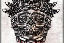 TATTOO MOONTEARS / Tatuajes y bocetos hechos por Rafael Alonso en Tattoo Moontears.