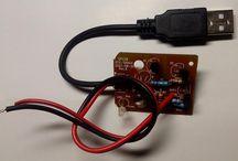 Kit Regulator Board Dari Usb 5V to Dc out 4,2V