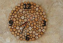 drewniane dekoracje / dekoracje wykonane z drewna do dekoracji domu