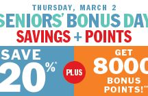 shoppers bonuspoints