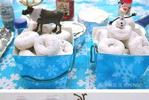 a Frozen party!!! just for kicks! / by Joliene Tresslar