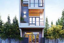 Rowhouse ideas - facade