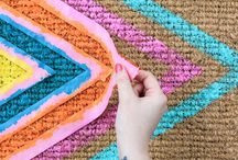 Geometric Love / DIY geometric crafts / by Homemade Ginger | Tutorials, Home Decor, Crafts, Kids Crafts, Craft Tutorials, Saving Money!