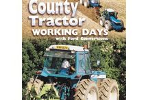County Tractors / A collection of County Tractor books and DVDs. All available now from www.oldpond.com.