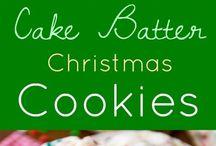 Christmas cookie batch
