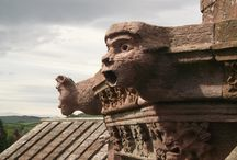 Architectural bits and bobs / railings, windows, floors, carvings etc