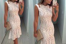 Vestido branco reweelon