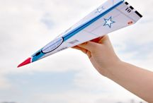 Crafting - Paper Airplanes / by Sheila Brink Addison