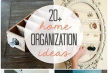 Arrumação & organização / Dicas para arrumação, aproveitamento de espaços, artesanato e muito mais...