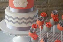 Baby shower-cake