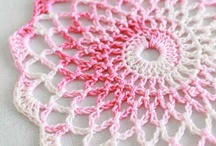 Crochet doilies, stiches and patterns / Doily, sitich, pattern, tutorial