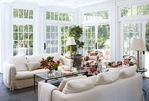 Conservatories and Sun Rooms / I absolutely love the Brits and their conservatories. We have the their cousins here in the U.S.called sunrooms. They're ok, but give me a conservatory anyday.   / by Marty Smith