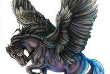 animaux imaginaires ou originaux ou sombres