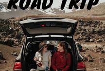 Road Trip Adventures Around the Globe / road trips, car hire, vehicle rental, road trip adventures.