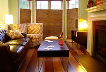 A house is made of wood and stone, but only love can make a home! / Vintage/Retro Living Rooms...