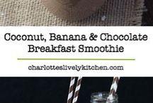 Chocolate breakfast smoothie