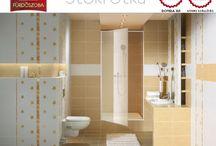 Színek: NARANCS & SÁRGA fürdőszobák / SÁRGA és NARANCS fürdőszobák