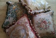 Cushions from Rugs / Rugs can be matched with cushions showing a similar pattern.