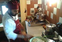 07/02/2015 * Work in progress / Preparing a lunch with India at Your Home * San Casciano - Florence / Food & Life