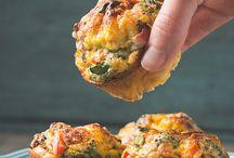 Muffins de sal