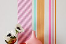 Inspire Me // Washi Tape! / Transform your living space with Washi Tape!