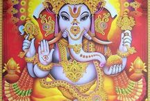 Ganesha and friends / All about Hindu gods