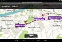 a Wayteq x995Max es a Waze / A Waze működő verziója a Wayteq x995 Max-on