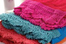 crochet towels endings