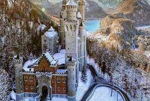 Burgen und Schlössern in Deutschland