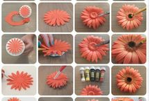 мастика цветы