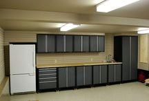 Garage and garage mud room ideas