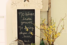 Farmhouse/Rustic/Country Chic Home Decor