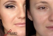 Makeup before & after / The ability for makeup to transform - Before & After makeup by pro artist Toni Lazzaro