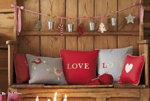 Christmas ( Decorated Rooms and furniture.)