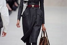 LFW ¬ Burberry Prorsum / One of the most anticipated shows of LFW is Burberry Prorsum. It was rich - in texture, in colour and in front-row celebrities. More than anything, Burberry seems to bridge the gap between aspirational and accessible. / by Zuneta Beauty