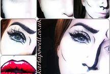 cartoon makeup