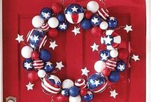 Here's To The Red, White & Blue / These pins are not exclusively mine, so feel free to pin as many as you want without fear of being blocked!bEverything in the wonderful colors of our great nation....celebrate America with food, decoration, and more!  / by Linda Imus