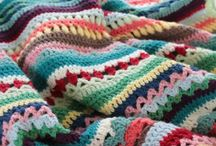 Crochet blanket spice of life