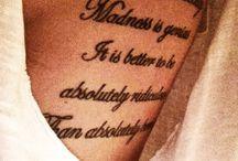 Tattoos / by Lindsay Langston