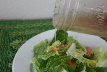 Homemade Salad Dressings & Condiments / by Debra Schramm