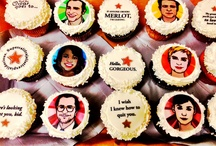 """Cupcakes & Cocktails / Weekly confections, known as """"Cupcakes & Cocktails"""" make their way through the halls of Hunter PR every Wednesday afternoon to deliver a mid-week boost to our staff. Pairings vary based on the season and what is going on in the worlds of entertainment, media and pop culture. Take a peek at one of our favorite Hunter PR traditions, and consider a sugar-inspired remedy to cure your own hump day woes!"""