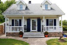 Amerikanische Häuser