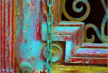 Doors of Many Colors / by Cheryl Ponce