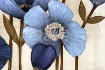 Flower paintings,art etc.