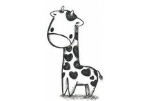 Cute drawings / animals
