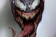 Venom Comic Book Art / We are VENOM!