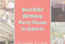 Birthday Party Venues Jakarta / Who doesn't celebrate a birthday party? Kids' Birthday Party, Sweet Seventeen Birthday Party, and regular Birthday Party. Feels free to check out the best venue or restaurant to celebrate your special birthday party!
