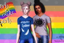 {Sims 3} Pride Gear