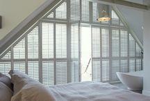 Custom shape window shutters